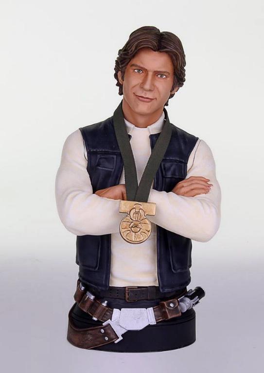 Gentle Giant - Han Solo Hero of Yavin Mini Bust Solo-h10