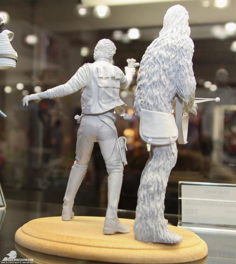 Kotobukiya - Han Solo & Chewbacca - ARTFX+ Statues 2 packs Soloch12