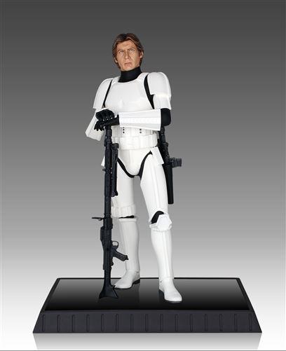 Gentle Giant - Han Solo Stormtrooper Deluxe Statue Solost13
