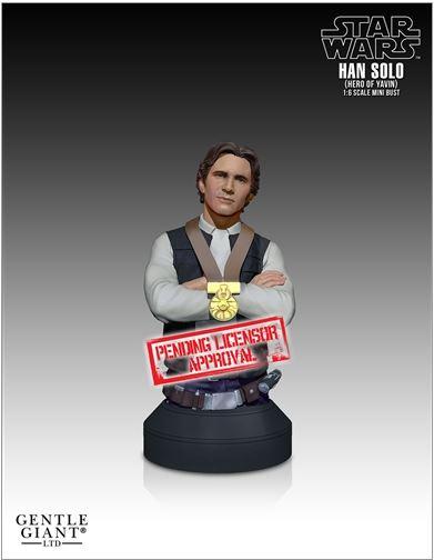 Gentle Giant - Han Solo Hero of Yavin Mini Bust Soloya10