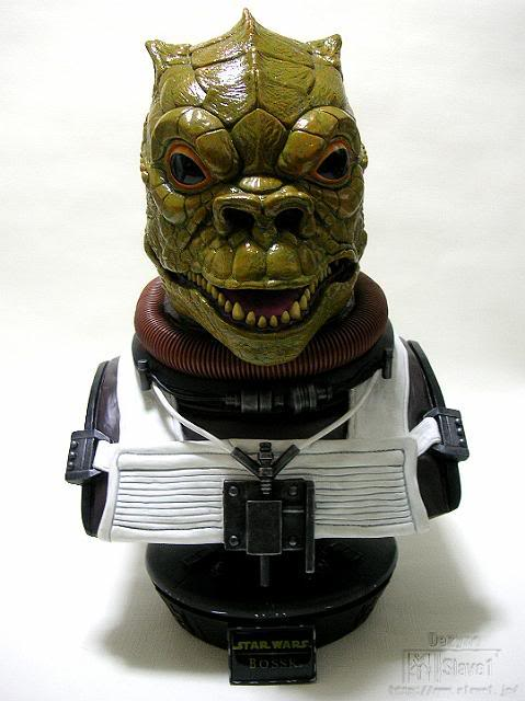 Sideshow Collectibles - Bossk Life Size  Bust Ssc-bo13