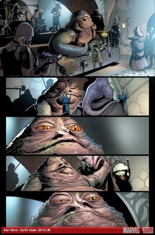 Marvel Comics US - Star Wars: Darth Vader Star-w10