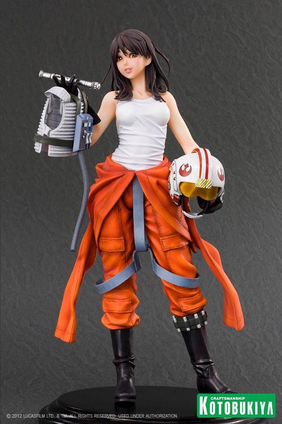 Kotobukiya -  Jaina Solo X-Wing Pilot Bishoujo Statue Star-w78