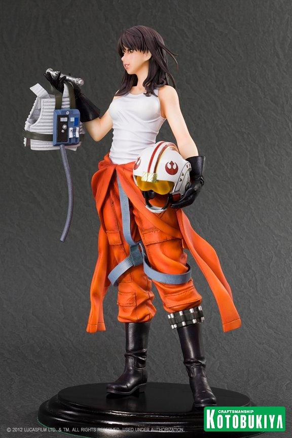 Kotobukiya -  Jaina Solo X-Wing Pilot Bishoujo Statue Star-w80