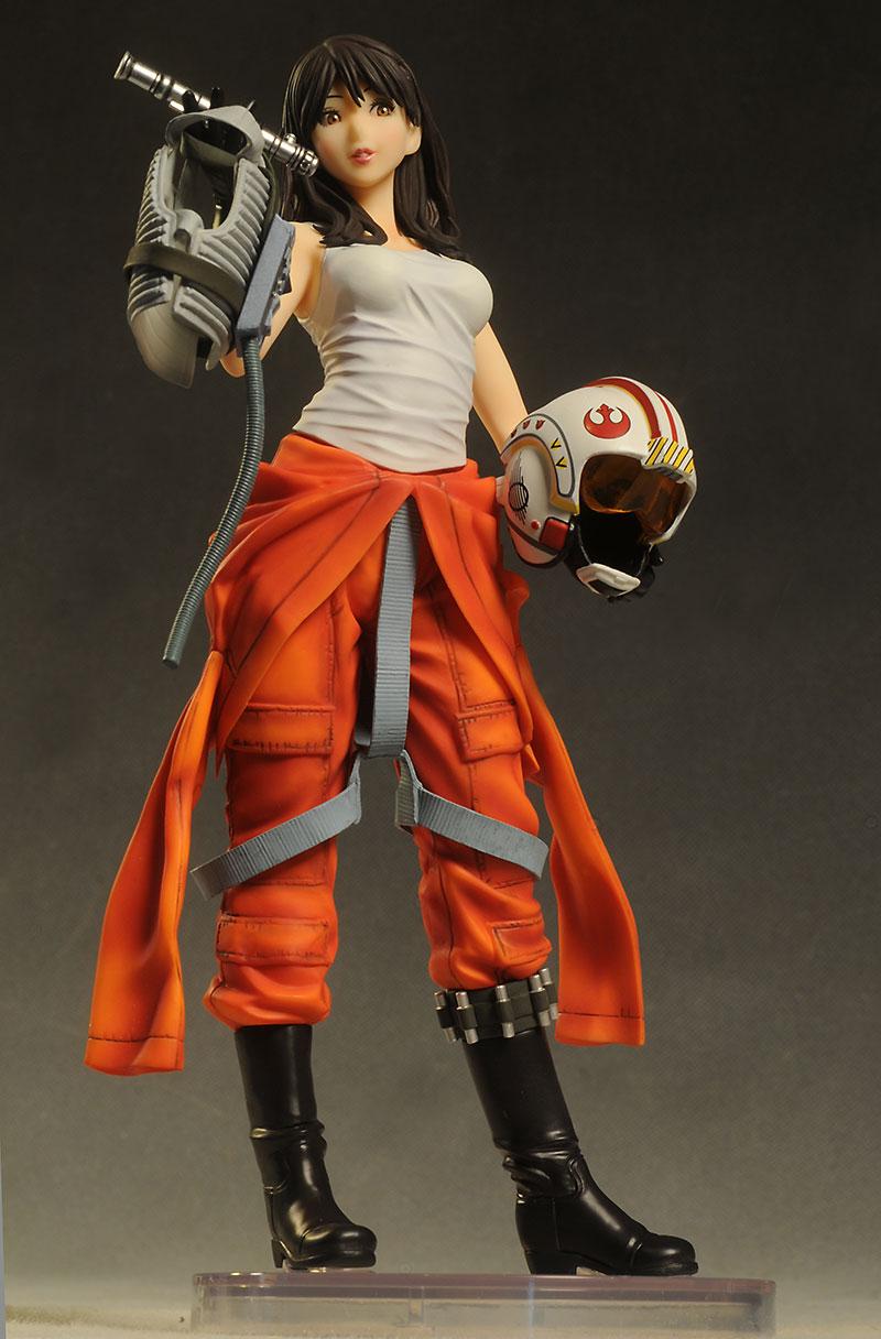 Kotobukiya -  Jaina Solo X-Wing Pilot Bishoujo Statue Star-w81