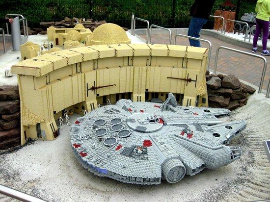 Allemagne: Legoland Starwars event Star-w82
