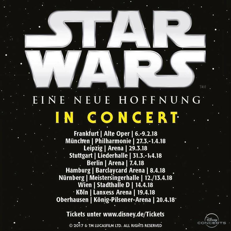 Star Wars In concert 2018 Starwa48