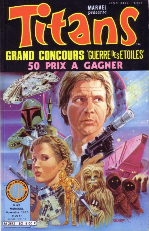 Couverture originale de Tom Palmer sur Titans (Lug-1985) Starwa53