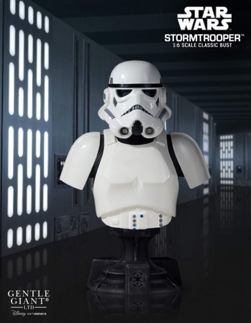 Gentle Giant - PGM - Stormtrooper Classic Bust: A New Hope Stormb10