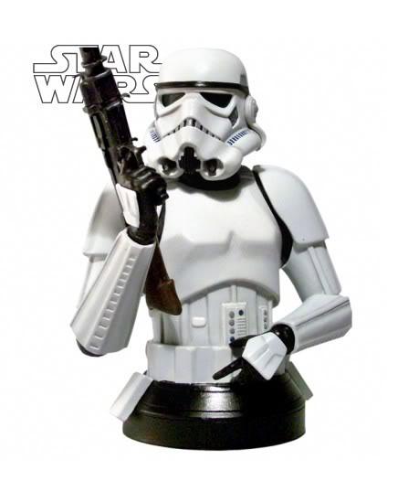 Stormtrooper Mini bust Stormt14