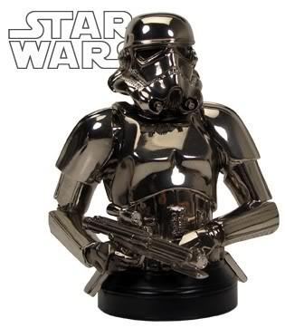 Stormtrooper Chrome Mini bust Stormt15