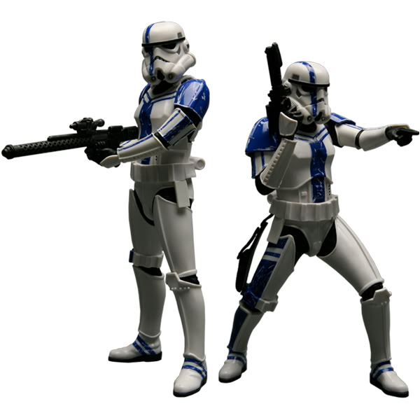 Kotobukiya: SDCC Exclusive ARTFX+ Stormtrooper Commander Set Stormt20