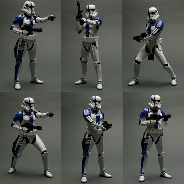 Kotobukiya: SDCC Exclusive ARTFX+ Stormtrooper Commander Set Stormt22