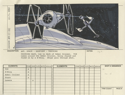 Star Wars Storyboards - The Prequels  Story010