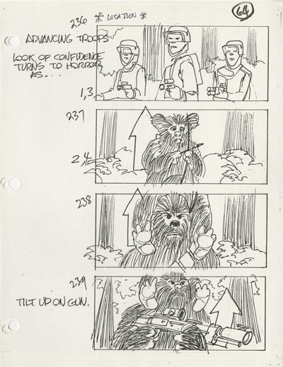 Star Wars Storyboards - The Prequels  Story011