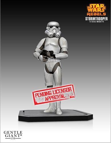 Gentle Giant - Star Wars Rebels Stormtrooper Maquette Stromr10