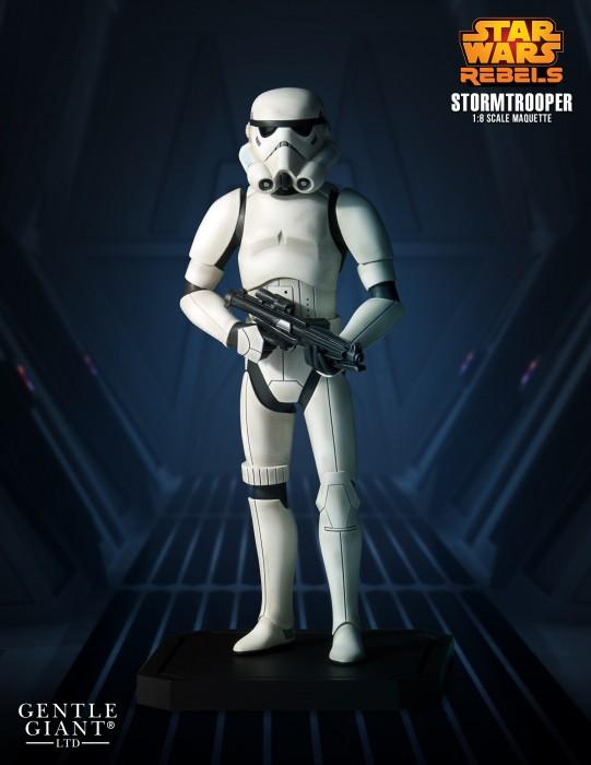 Gentle Giant - Star Wars Rebels Stormtrooper Maquette Stromr11