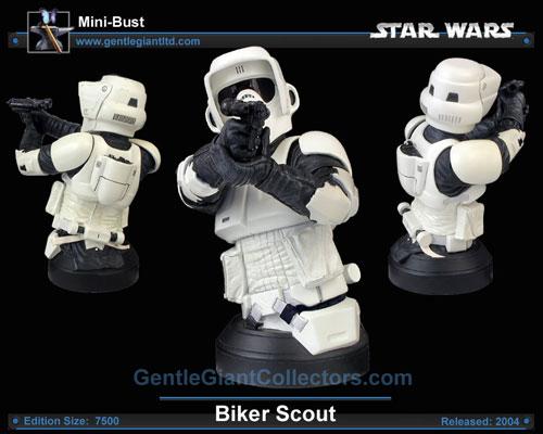 Biker Scout Mini bust Sw_bik10
