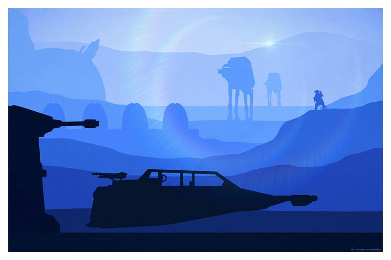 Artwork Star Wars - ACME - T-47 Airspeeder T-47_a10