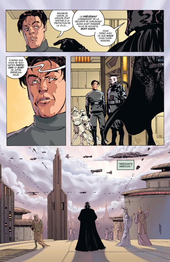 Star Wars LE COTE OBSCUR 11 – DARK VADOR - TRAHISON T1410