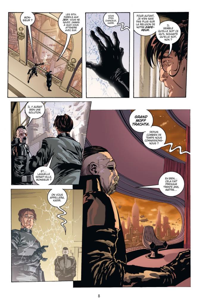 Star Wars LE COTE OBSCUR 11 – DARK VADOR - TRAHISON T1510