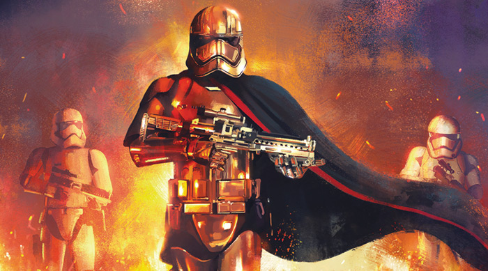 Artwork Star Wars - ACME - The Phasma Command The_ph10