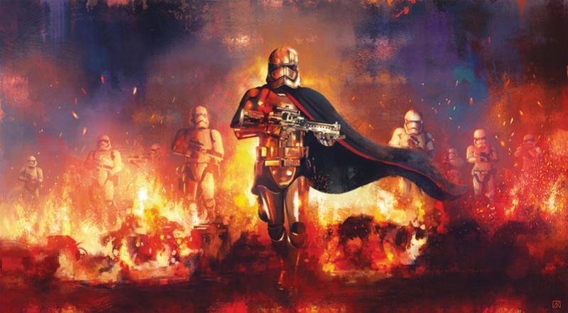 Artwork Star Wars - ACME - The Phasma Command The_ph11