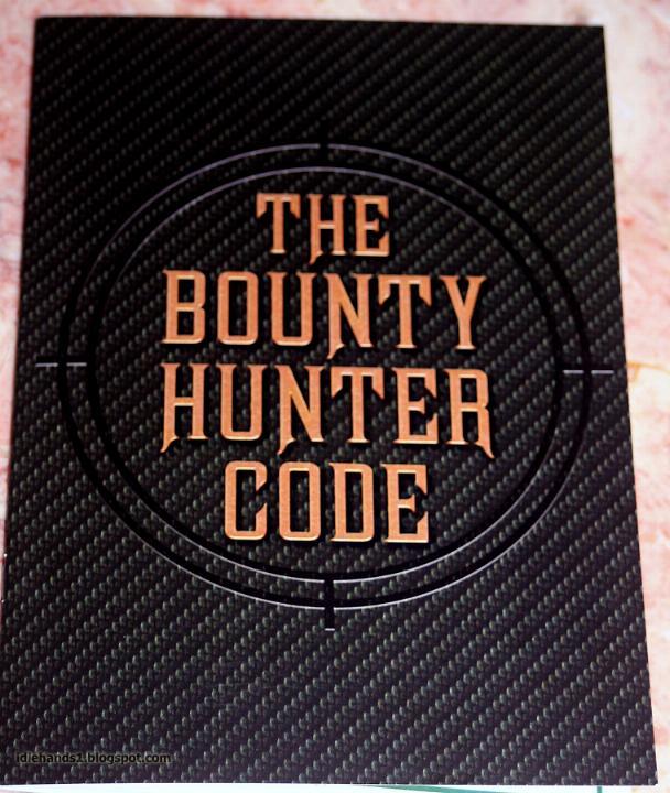 The Bounty Hunter Code - Le Code du Chasseur de Primes Thebou12