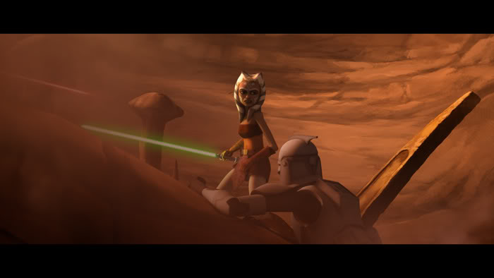 STAR WARS - THE CLONE WARS SAISON 2 EPISODES 1 - 10 Theclo17