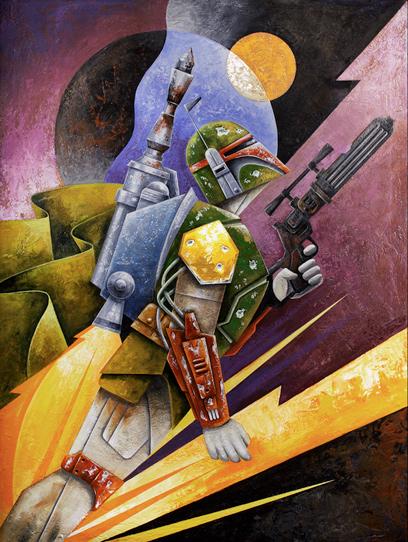 Artwork Star Wars - ACME - The Hunter Thehun10