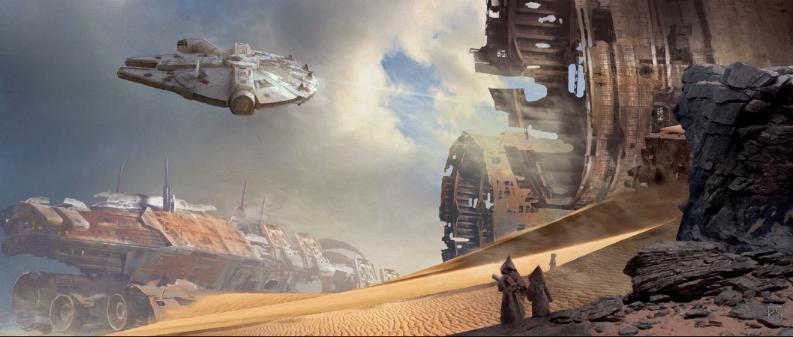 Artwork Star Wars - ACME - Through the Wreckage Throug10