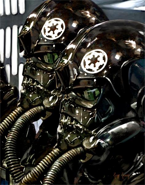 Artwork Star Wars - ACME - TIE Fighter Pilots Tie_fi12