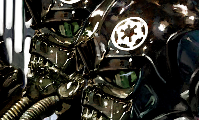 Artwork Star Wars - ACME - TIE Fighter Pilots Tie_fi13