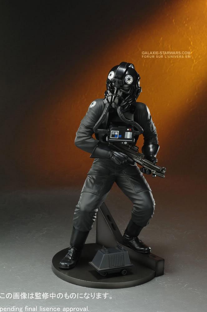 Kotobukiya - Tie fighter pilot (2008) Tiefig10