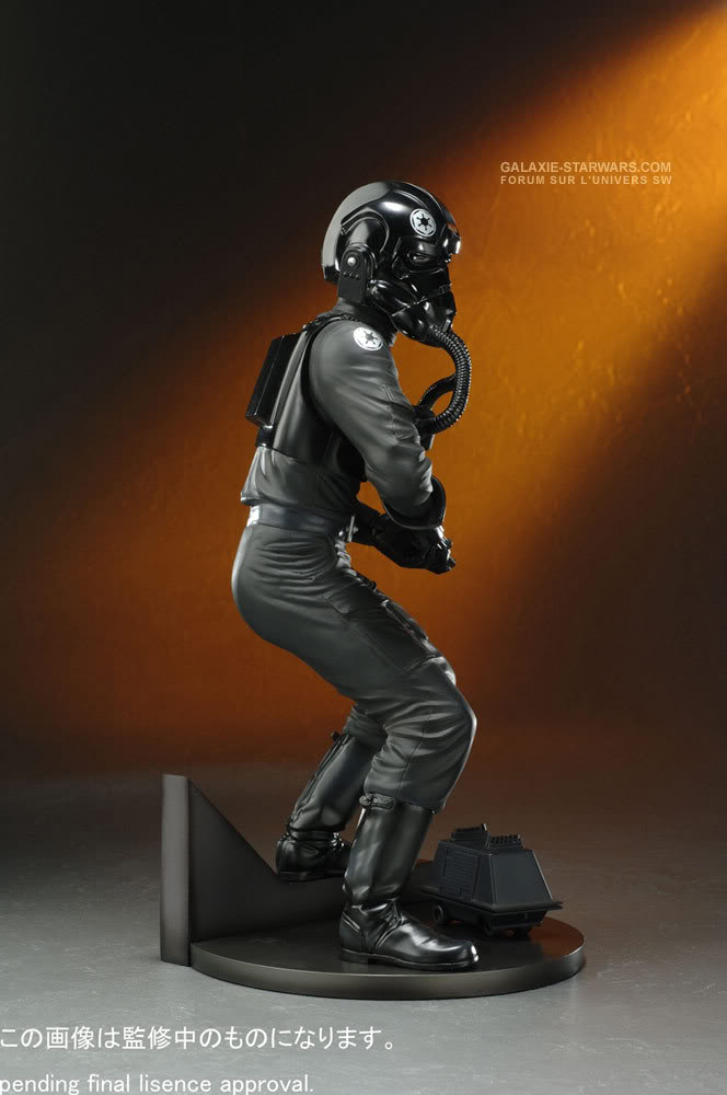 Kotobukiya - Tie fighter pilot (2008) Tiefig11
