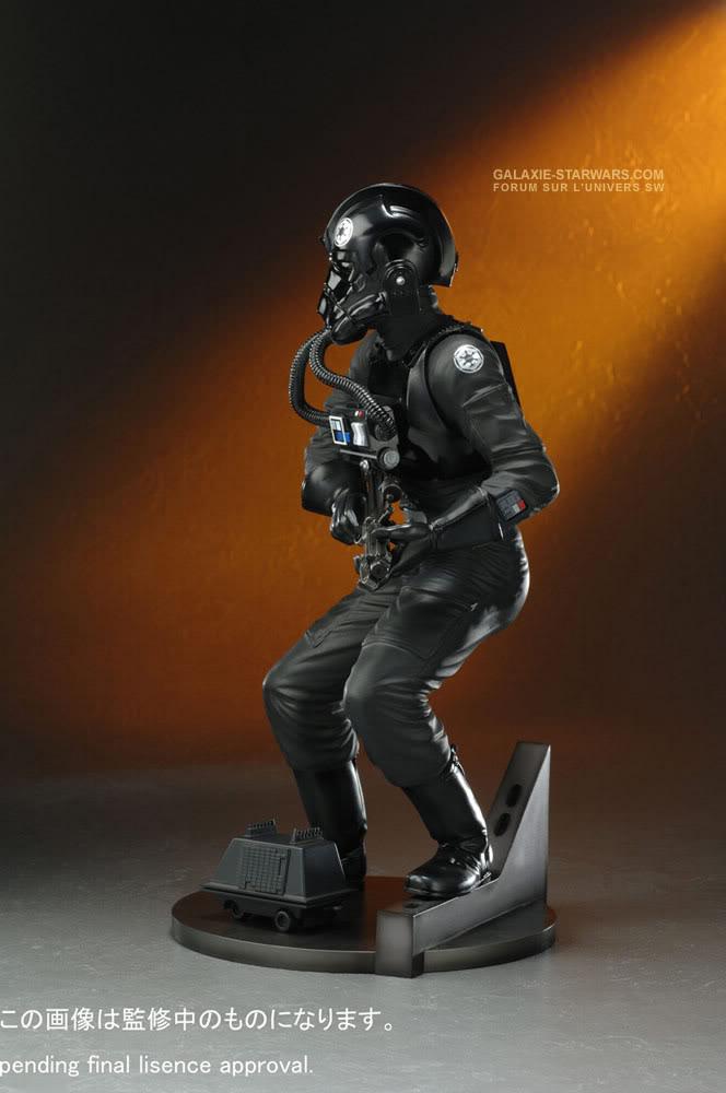 Kotobukiya - Tie fighter pilot (2008) Tiefig12