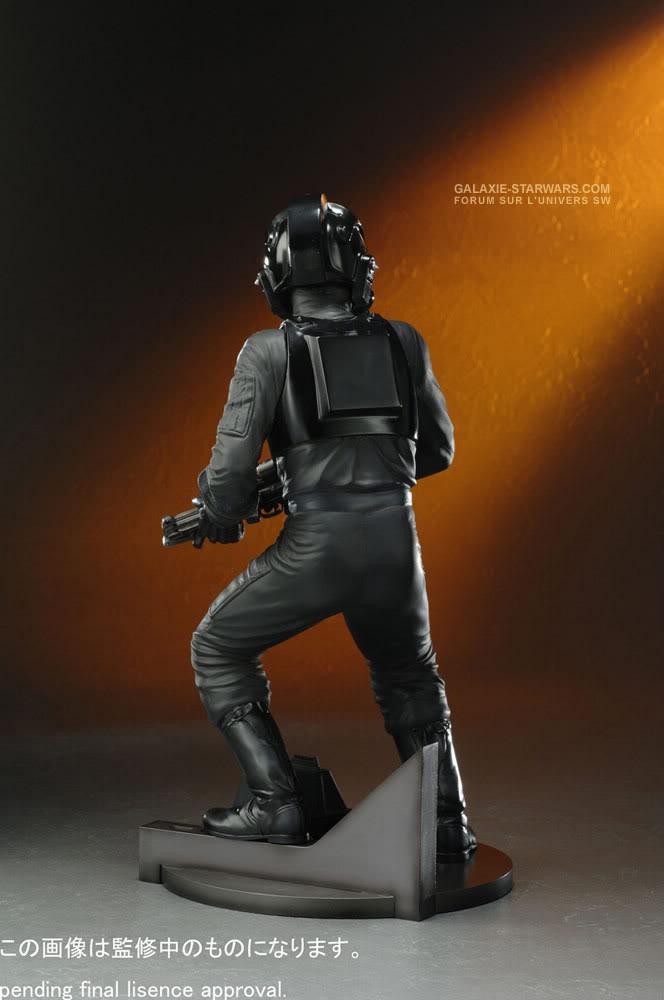 Kotobukiya - Tie fighter pilot (2008) Tiefig13
