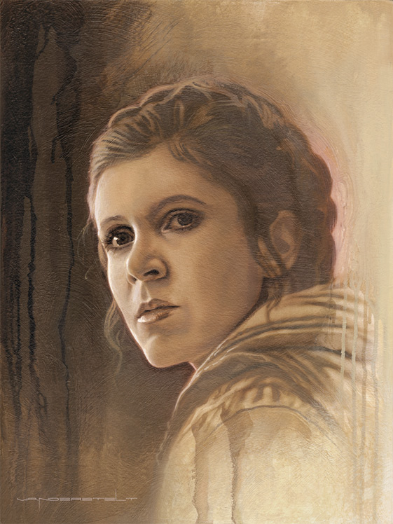 Artwork Star Wars - ACME - Timeless Series Leia Timele17