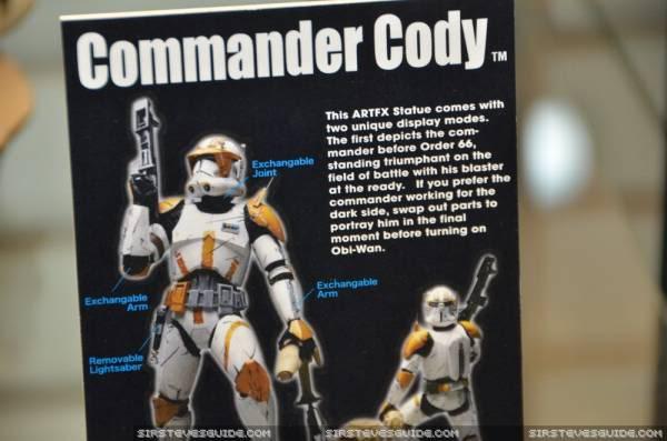 Kotobukiya - Commandant Cody Artfx Statue Toy_1514