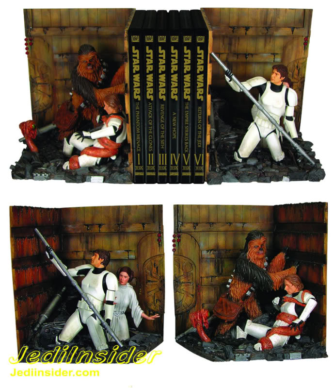 Gentle Giant - Bookends - Diorama Trash Compactor Trash_10