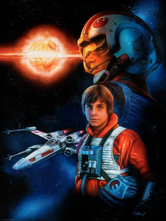 Artwork Star Wars - ACME - Trust the Force (2017) Trust_11