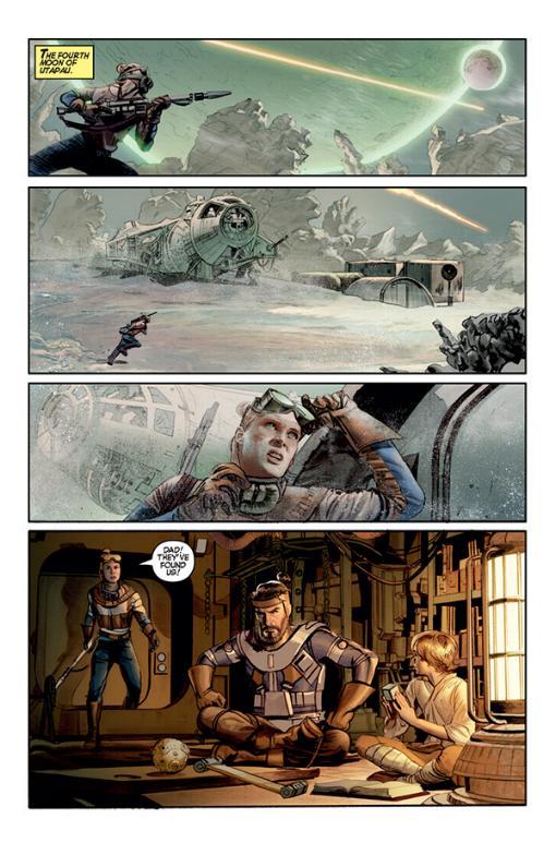 THE STAR WARS - Comics Dark Horse Tsw01011
