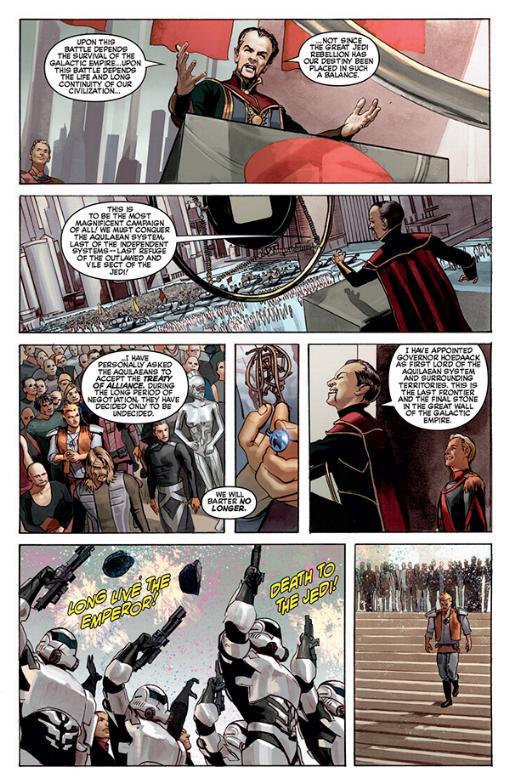 THE STAR WARS - Comics Dark Horse Tsw01013