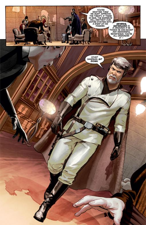 THE STAR WARS - Comics Dark Horse Tsw01014