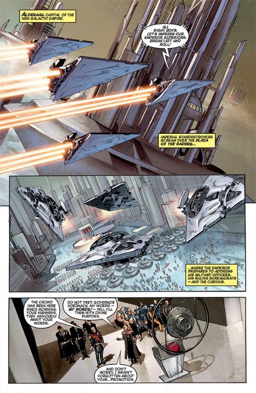 THE STAR WARS - Comics Dark Horse Tsw01015