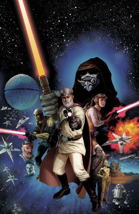 THE STAR WARS - Comics Dark Horse Tsw01a10