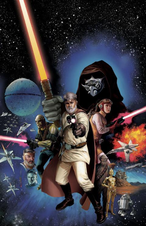 THE STAR WARS - Comics Dark Horse Tsw01a10