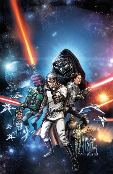 THE STAR WARS - Comics Dark Horse Tsw01b10
