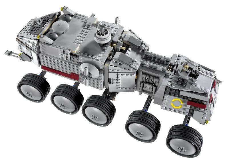 LEGO STAR WARS - 8098 - Clone Turbo Tank Turbot12
