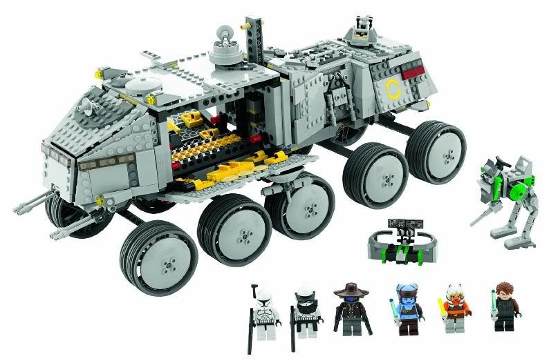 LEGO STAR WARS - 8098 - Clone Turbo Tank Turbot13